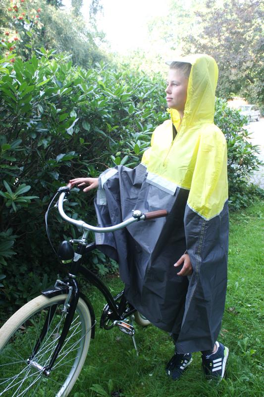 fahrrad regencape regenjacke gelb unisex neu ebay. Black Bedroom Furniture Sets. Home Design Ideas